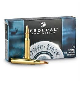 Federal Federal 30-06 A Springfiel 150gr soft point 2910fps Power*shok