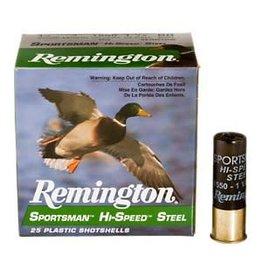 "Remington Remington steel 12ga 3"" 1550fps 1-1/8oz #4 shot shell"