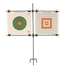 Allen 1529 Paper Target Stand Steel Frame, 8 Clips
