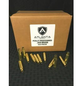CSD canadian-sports Components Processed  Brass 308 Cleaned Fulllength Sized and Trimmed 500ct