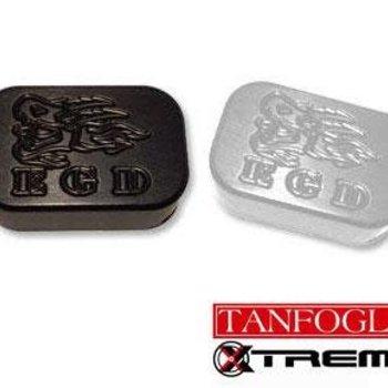 Tanfoglio Tanfoglio parts: XTREME BASE PAD 2.0 small frame Silver