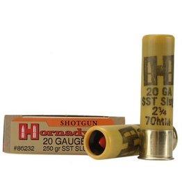 "Hornady Hornady Ammunition, 20 Gauge, 2-3/4"", 250 Grain, SST Sabot Slug, 1 Box, 5 Shells"