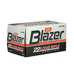 CCI CCI Blazer .22 LR ammo High Velocity Ammunition 500 Rounds Lead Round Nose 40 Grain 1,235 fps