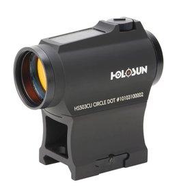 Holosun hs503cu micro sight solar battery tray ar riser