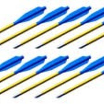 BOLT Crossbow BOLT Crossbows  Aluminum Youth Bolts 6.5 INCH BOLTS 28 lb 12ct