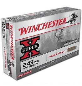 WINCHESTER Winchester 243 Win 100gr Power Point
