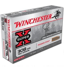 WINCHESTER Winchester 308 Win 180gr Power Point