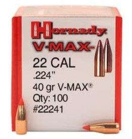 Hornady Hornady 22 Cal .224'' 40gr V-Max