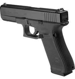 Glock Glock G17 Gen5 Fixed Sight W/ 3 mags back-straps,speed loader, cable lock and nylon brush