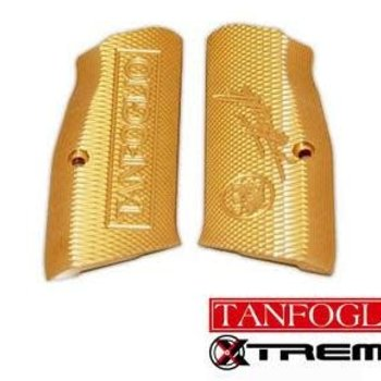 Tanfoglio Tanfoglio parts Xtreme Brass grips, small frame,(fits stock 1,2,3,)