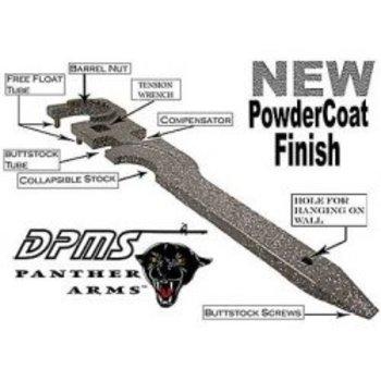 DPMS DPMS AR-15 Armorer's Multi Tool 4140 Steel Phosphate Grey