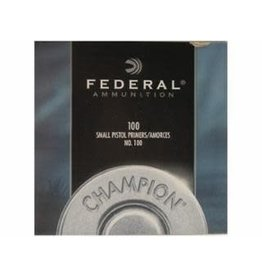 CSD canadian-sports Federal 100 Small Pistol Primers 1000ct