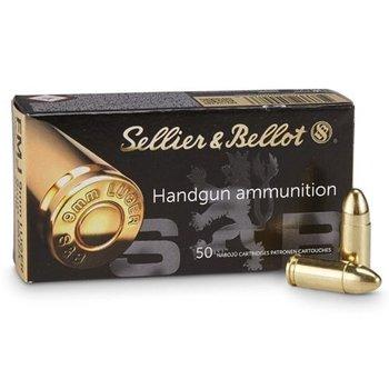 Sellier & Bellot Sellier & Bellot (S&B) 9mm PARA 124 FMJ 1000rd