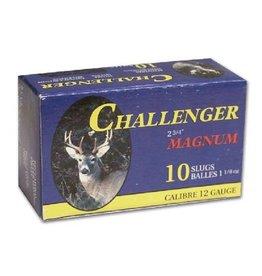 Challenger Challenger 12ga 2 3/4 Tactical slug 175 pack magnum