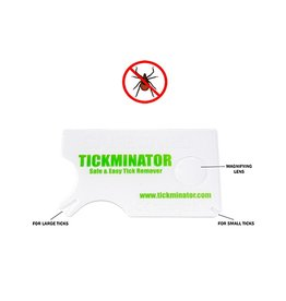 tickminator Tick Removal Tool for people, dogs, cats.
