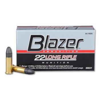 CCI CCI Blazer .22 LR ammo High Velocity Ammunition 50 Rounds Lead Round Nose 40 Grain 1,235 fps single