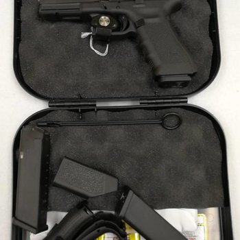 Glock G31Glock Gen4 fixed sight  .357 sig 3 mags