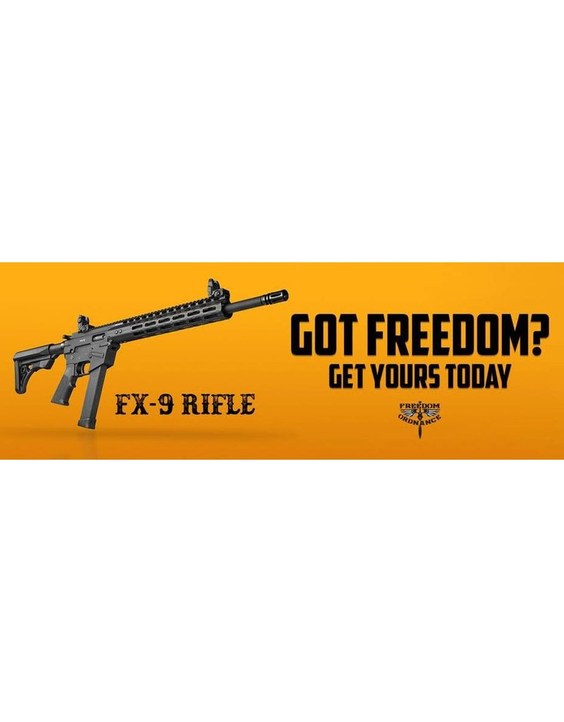 freedom ordnance *** Only available Spring 2018***FREEDOM ORDNANCE FX-9 Non-Res $1049 deposit $250