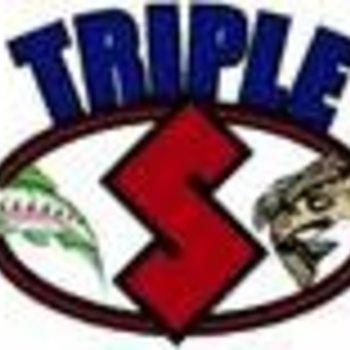 Triple S A-Tom-Mik TOURN. FLY BLUE GLOW LBB