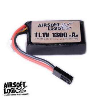 Airsoft Logic Airsoft Logic 11.1V Li-po Battery 1100maH (PEQ 15)