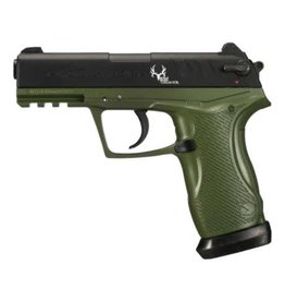 GAMO Gamo C-15 Bone Collector Blowback Air Pistol 177 Caliber BB and Pellet Green and Black Frame