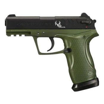 GAMO Gamo C-15 Bone Collector Blowback Air Pistol 177 Caliber BB and Pellet Green and Black Frame