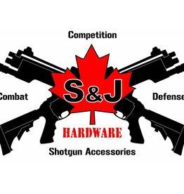 S&J hardware glock alum mag base 9/40  black