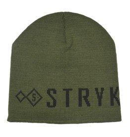 stryk fishing appreal Stryk Beanie Black/Mil-green