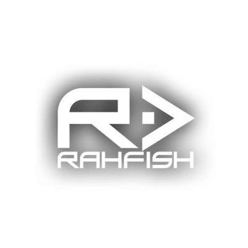 RAHFISH RAHFISH BIG R BLK XXL size W/CHAR TEE