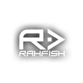 RAHFISH RAHFISH BIG R WHITE L size W/ BLK TEE