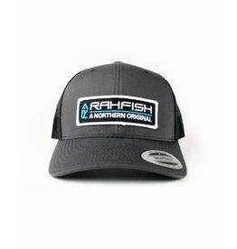 RAHFISH RAHFISH NOR ORIG CHAR/BLK TRUCKER HAT