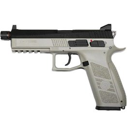ASG ASG CZ P-09  Urban Grey Airsoft GBB Gas Blowback Full Metal Pistol