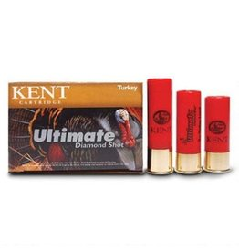 Kent Cartridge Ultimate Diamond Shot Turkey, #4,12GA,3 1/2 '', 2 1/4 OZ, 1200 FPS