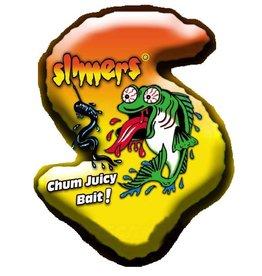 Slimers canada 6'' BLACK WORM/LEECH 6BLKWL15 15/cap
