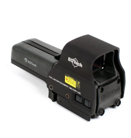eotech EOTech 518 Holographic Weapon Sight 65 MOA Ring/One MOA Dot Quick Detach Mount AA Batteries Picatinny Black 518.A65