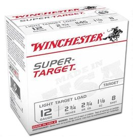 WINCHESTER Winchester TRGT128 Super-Target Trap Load 12 GA, 2-3/4'',  1-1/8 oz, 2-3/4 dr, 25 Rnds, in box
