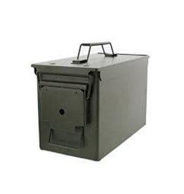 Surplus Metal Ammo case