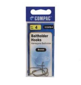 Baitholder Baitholder Hooks 5PCS/PB # 6