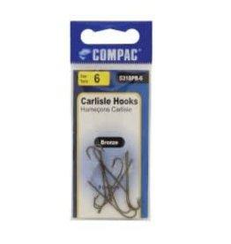 Carlisle Carlisle Hooks 6PCS/PB #1/0