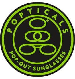 Popticals Sunglasses Popticals Standard Lense Brown BrownMatte Frame