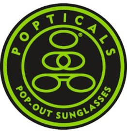 Popticals Sunglasses Poptical Polarized Lense Gray GrayGloss Frame
