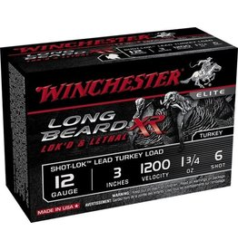 WINCHESTER Winchester STLB1236 12ga 3'' 1-3/4o 6 Shot Long Beard Xr Lead Turkey