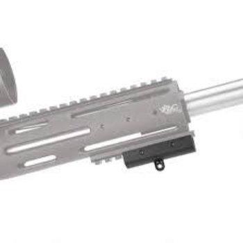 Caldwell Shooting Supplies Bipod Adaptor For Picatinny Rail Aluminum Black 535423