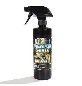 Weapon Shield Weapon Shield Solvent 16oz. bottle with sprayer