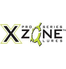 VRX FISHING X Zone Lures 4'' Grub , Bubblegum/Chart Tail