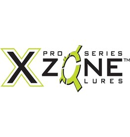 VRX FISHING X Zone Lures Tube Jig w/ Rattle - 3/8 oz, Tapered Head, 60F BN Hook