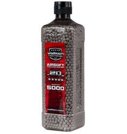 Valken Tactical Valken Airsoft BBs .20gr - 5000 Bottle - White