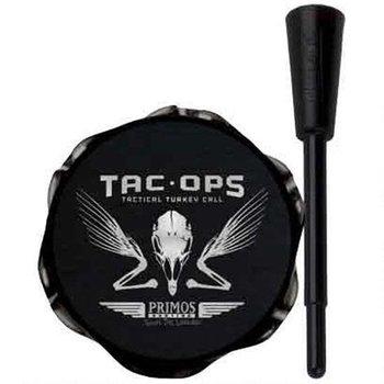 Primos Tac-Ops Tactical Turkey Pot Call Aluminum Black 277