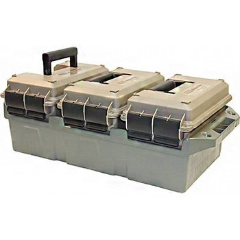 MTM 3-can ammo crate W/3 50 Cal Cans