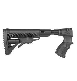 FAB DEFENSE AGR 870 FKSB M4 COLLAPSIBLE BUTT STOCK W/SHOCK